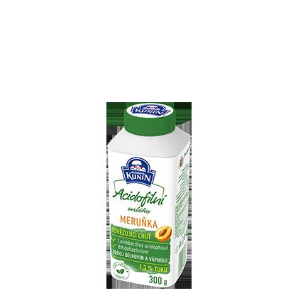 Acidofilní mléko Meruňka