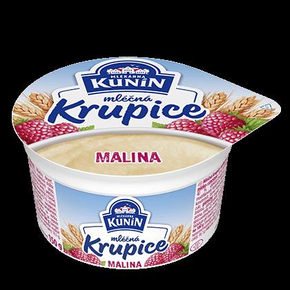Mléčná krupice Malina