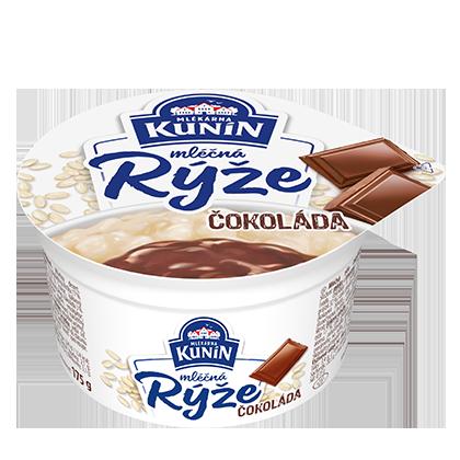 Mléčná rýže Čokoláda
