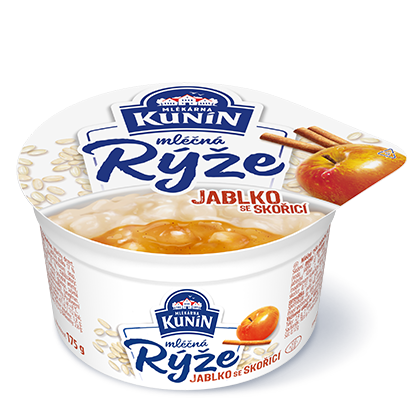 Mléčná rýže Jablko se skořicí