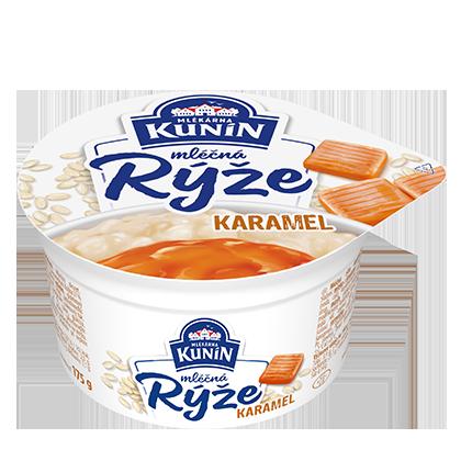 Mléčná rýže Karamel