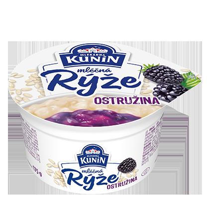 Mléčná rýže Ostružina