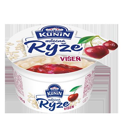 Mléčná rýže Višeň