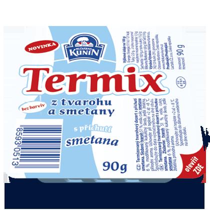 Termix s příchutí Smetana