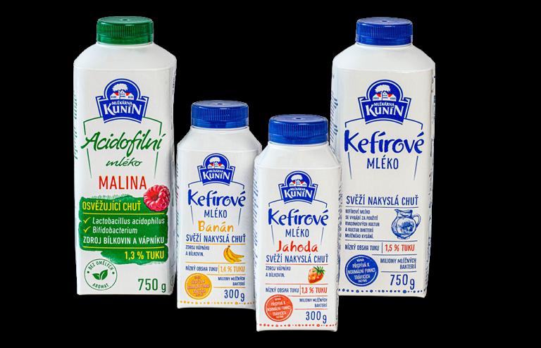 Kefírové mléko Meruňka(NOVINKA)