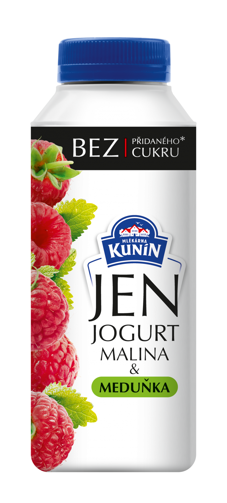 Jogurt malina a meduňka