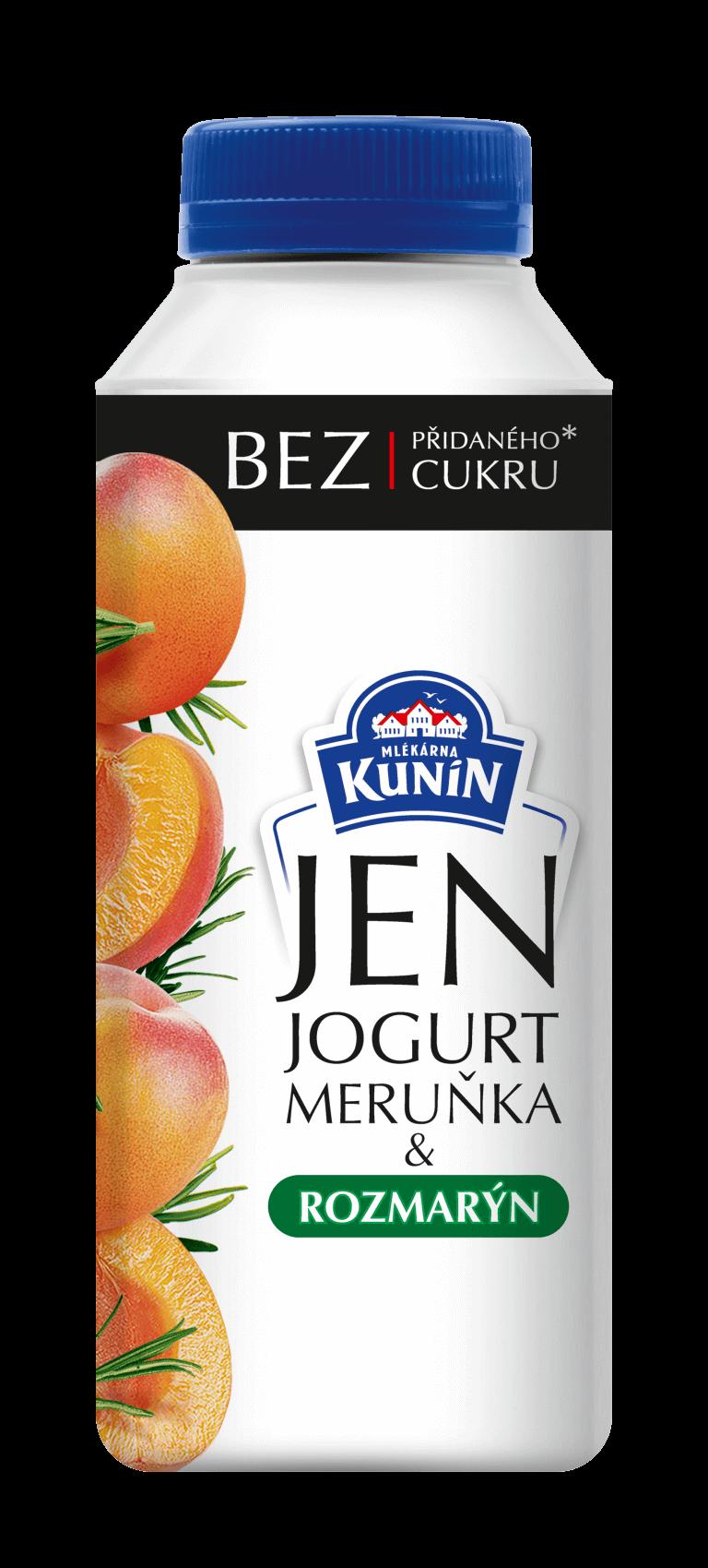 Jogurt meruňka a rozmarýn