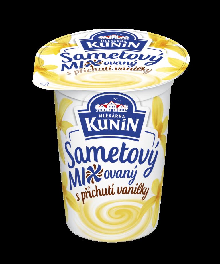 Sametový mixovaná vanilka